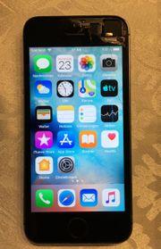 iPhone 5s 16GB schwarz mit