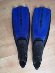 Seac Uni Flosse GO blau
