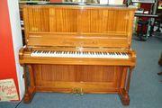 Rachals Klavier restauriert Mahagoni Schelllackpolitur