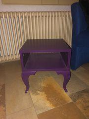 Beistelltisch lila IKEA