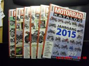 Motorrad-Katalog 2010 bis 2015