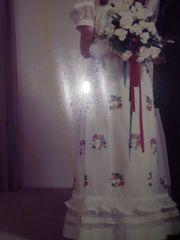 Hochzeit Kleid gekauft ca 1973