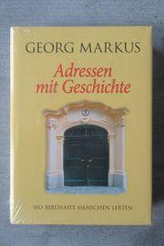 Georg Markus Adressen mit Geschichte