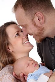 Familien Fotoshooting inklusive alle Bilder