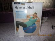 Gymnastikball 75 cm Durchmesser inclusive