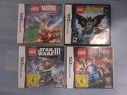 4 Ninteno DS Lego Spiele