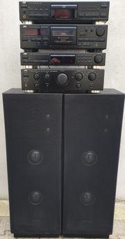 JVC Stereoanlage incl Boxen