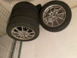 Winter 135 - 155 - Winterräder auf Alufelgen vom Mercedes