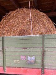 Haferstroh Rundballen 165cm unberegnet trocken