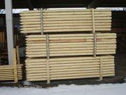 Pfähle aus Holz