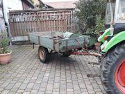 Traktoranhänger Anhänger Einachser