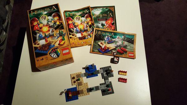 LEGO- Spiel Heroica Draida 3857