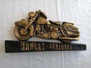 Harley Davidson Motorrad Deko