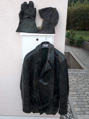 Alte Motorradbekleidung echt Leder
