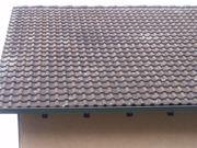 Frankfurter Pfanne Dachziegel Flächenziegel Ortgang