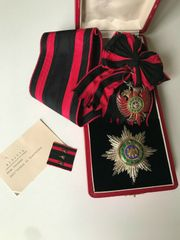 ALBANIEN Großkreuz des Skanderbeg Orden