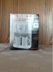 AFK Kaffeemaschine für zwei Tassen