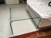 Beistell- Couch- Tische Rauchglas 60