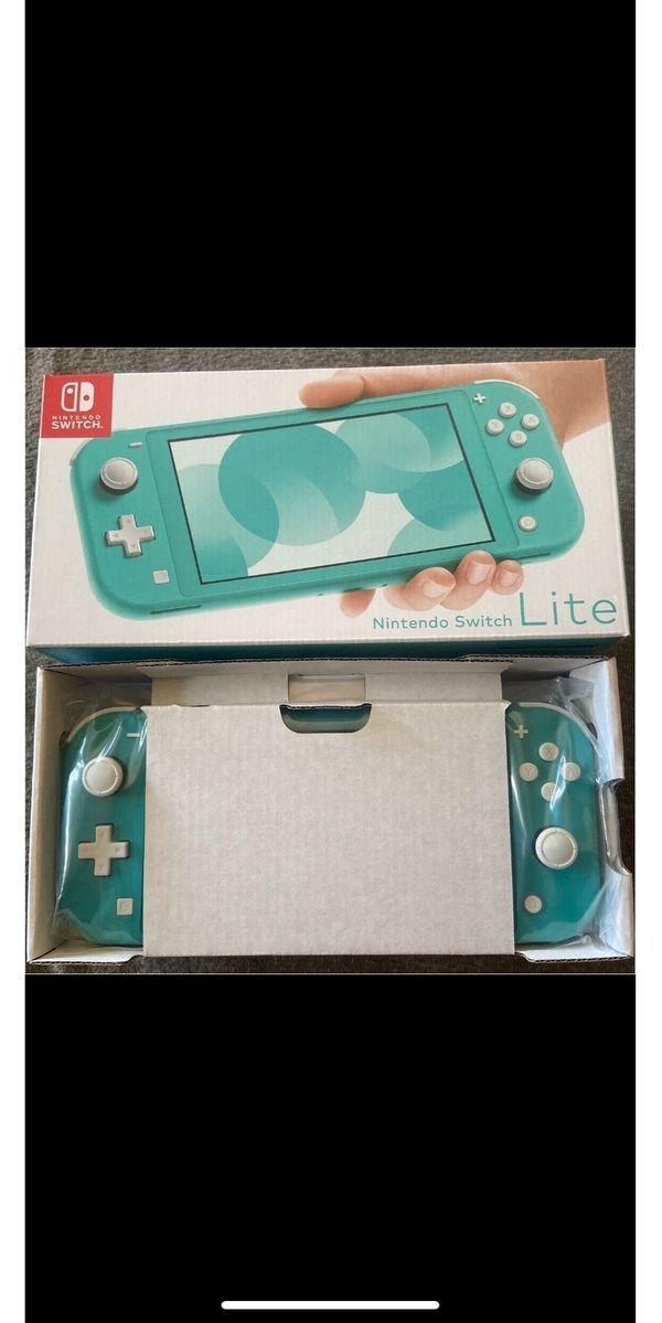 Nintendo Switch Lite32GB + 2Spielenagelneu /Online Mitgliedschaft