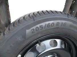 Bild 4 - 4 Winterräder Winterreifen Michelin 205 - Roßtal