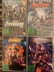 DVDs The Avengers 1-4 inkl