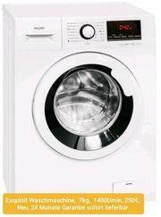 Waschmaschine 7kg 1400Umin 24 Monate