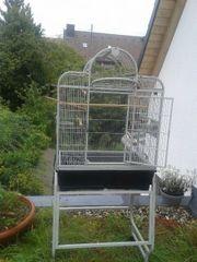 großer Vogel Käfig zu verkaufen