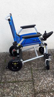 Rollstuhl elektrischer faltbarer Rollstuhl