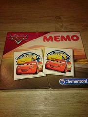 Clementoni Disney Cars Memory neuwertig