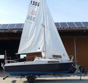 Kleines Kajütsegelboot zu verkaufen