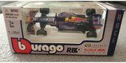 Modellauto Burago Sebastian Vettel 1