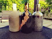 DIY Design Deko Glas Vase