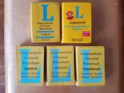 5 Langescheidts Universalwörterbücher