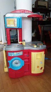 Spielküche mit diversem Zubehör