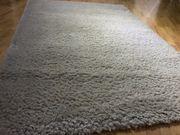 Teppich Creme Langhaar