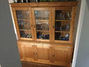 Antiker Küchen- oder Esszimmerschrank mit