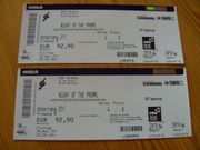 2 Tickets Night of the