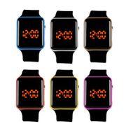 Digitale Armbanduhr Männer Frauen Silikonband