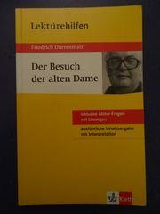 Lektürehilfen Friedrich Dürrenmatt Der Besuch