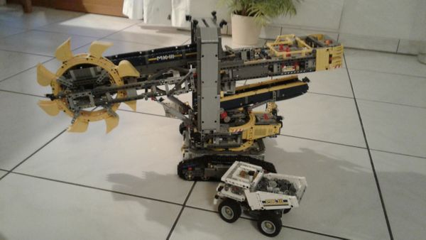 Lego Technic 42055 Schaufelradbagger inkl