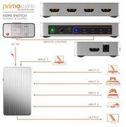 HDMI - Umschalter 5 Eingänge auf