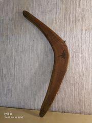 Echtholz Bumerang