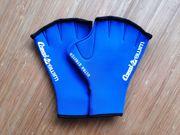 Schwimm-Handschuhe Gr S