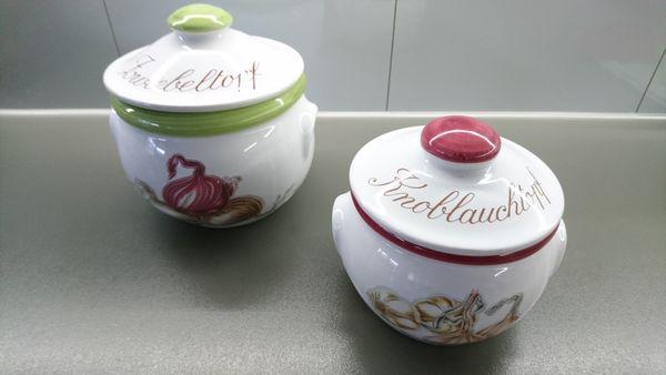 Zwiebel- Knoblauchbehälter