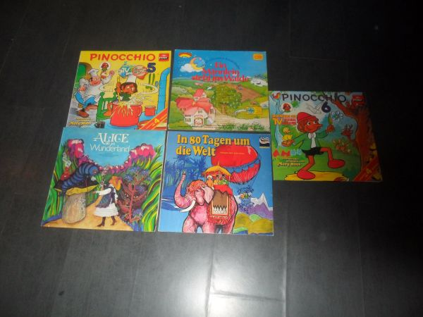 Sammlung LPs Kinder 5 Stck