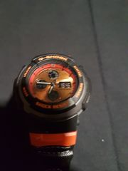 G-SHOCK Casio 2738 Schwarz Orange