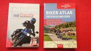 Geschenkset Motorrad Lehrbuch Biker Atlas
