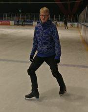 Schlittsch uh Eislaufen lernen für