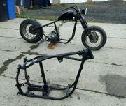 Harley Davidson Starrahmen Bobber Fahrgestell