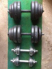 4 Fitness-Hanteln